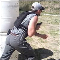 Black EOC on the range.