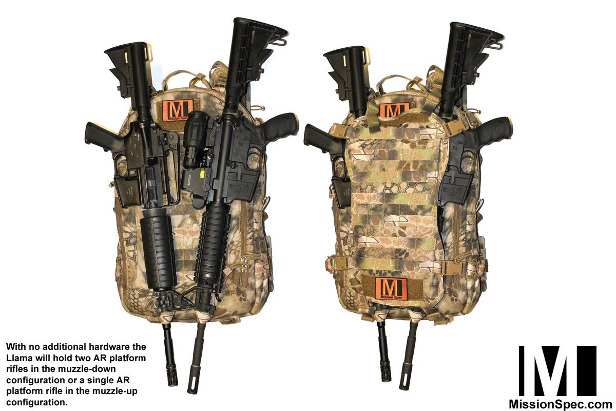 Llama Pack (Long Range Low-Profile Adaptable-Mission ...